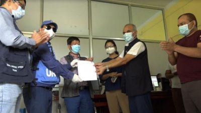 लुम्बिनी प्रदेशमा १ घण्टाभित्र रिपोर्ट आउने स्वचालित पिसिआर मेसिन जडान