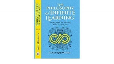 """युवा लेखक पवन पाठकले बजारमा ल्याए """"The Philosophy of Infinite Learning"""" पुस्तक"""