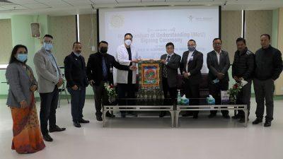 नेपाल मेडिसिटी अस्पताल र ललितपुर चेम्बर अफ कमर्सबीच सम्झौता