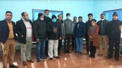 नेपाल चिकित्सक संघ नारायणी शाखामा इ–लाइब्रेरीको स्थापना