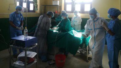बाजुराको कोल्टी प्राथमिक स्वास्थ्य केन्द्रमा पहिलो पटक सिजेरियन सेक्सन सुरु