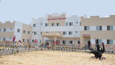 सुदूरपश्चिममा नेपाली सेनाको २५ शैय्याको फिल्ड अस्पताल संचालनमा