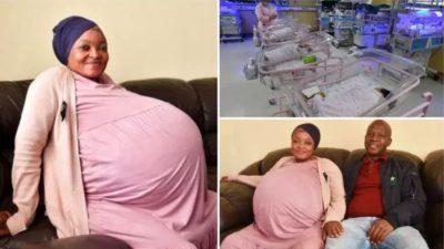 एकैपटक १० सन्तान जन्माएर दक्षिण अफ्रिकाकी यी महिलाले तोडिन् विश्व…