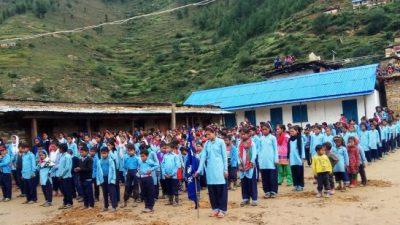 कोभिड-१९ संक्रमणको त्रासकै बीच खुले विद्यालय